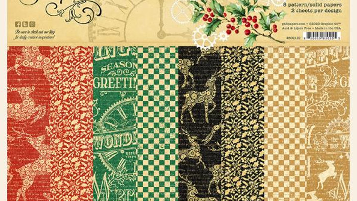 Christmas time  Patterns and Solids