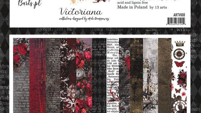 13 Arts 12 x 12 Paper Pack  Victoriana