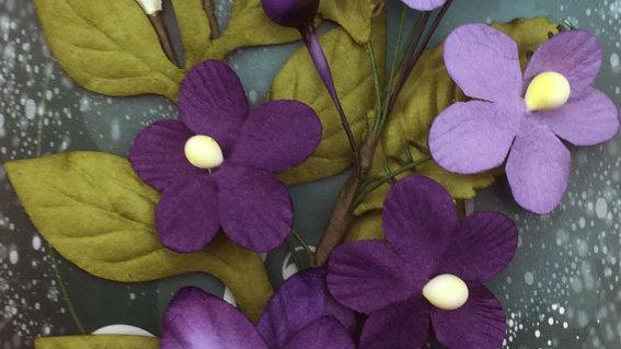 Green Tara Botanical Garden Purple