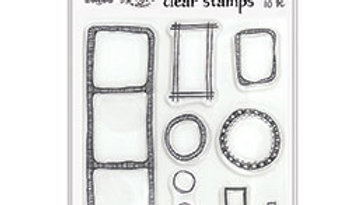 dylusions Dyalog Clear Stamps quotes