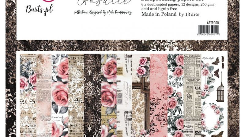 13 Arts Rosalie 12x12 paper pack