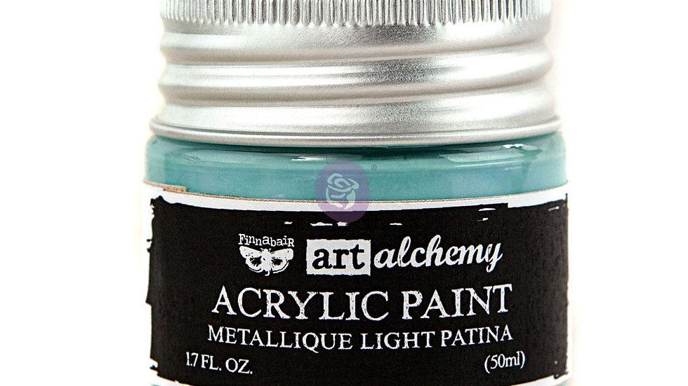Art Alchemy-Acrylic Paint-Metallique Light Patina 1.7 fl.oz (50ml)