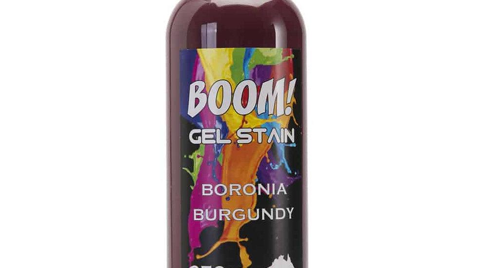 Boom Gel  Boronia Burgundy Stain