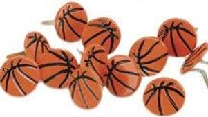 Basketball  Brads 12  pieces