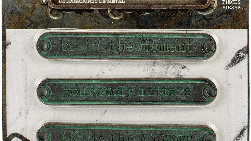 Finnabair Mechanicals - Antique Labels