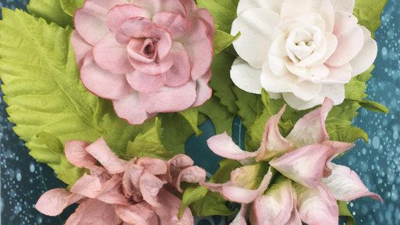 Green Tara Tea Roses beige