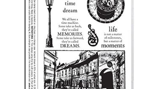 Darkroom Door Rubber Stamp - Prague Vol 2