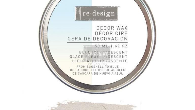 Re.Design Decor Wax 5.0ML 1.69OZ - Blue Ice (Eggshell to Blue)
