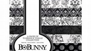 "Bo Bunny 6 x8 "" pad  Tuxedos and tiaras"