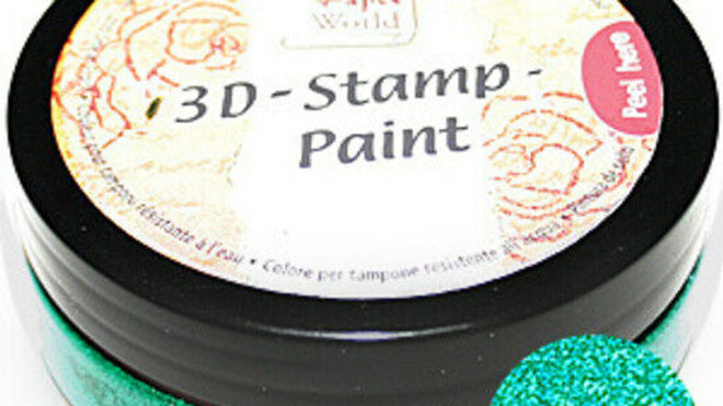 Viva 3D Stamp Paint Lime-Green