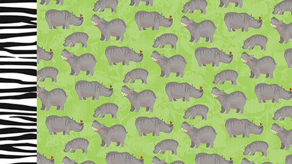 Carta Bella Zoo Adventure Hippos