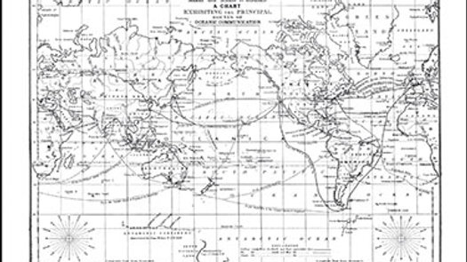 Darkroom Door Background Stamp - World Map