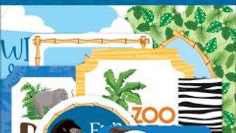 Carta Bella  Zoo Adventure Ephemera pack