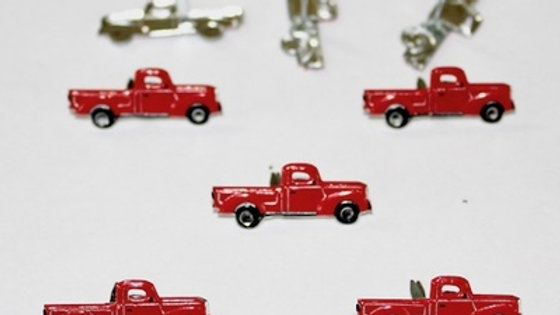 red trucks Brads 12  pieces