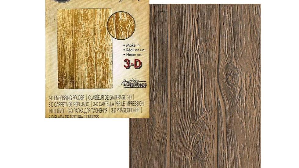 Sizzix 3D texture Fades Lumber