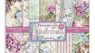 Stamperia Hortensia  8 x 8 inch collection