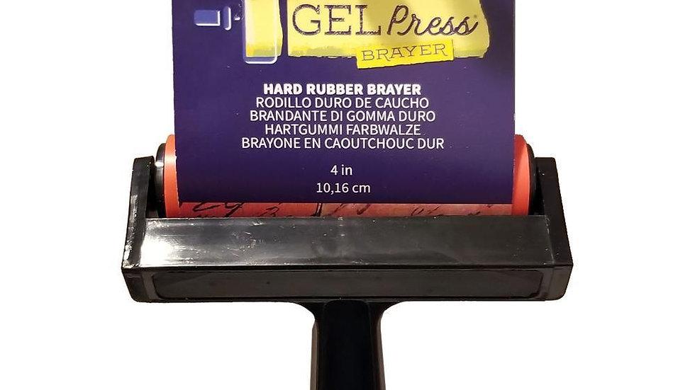 """Gel Press 4"""" brayer"""
