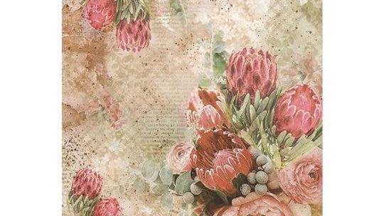 Ciao Bella  rice Paper   Protea
