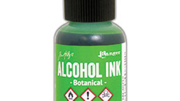 Alcohol Ink - Botanical