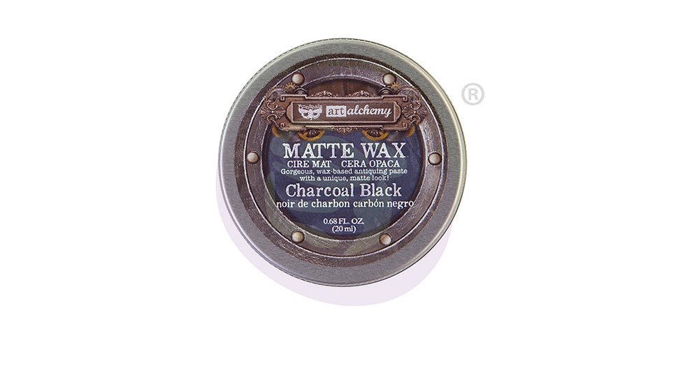 Art Alchemy-Metallique Wax – Charcoal Black.68oz (20ml)