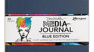 Dina Wakley Media Journal 8x10 - Denim