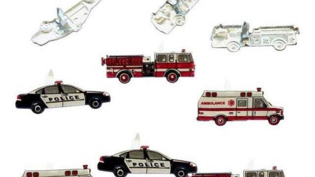 Response Vehicles  Brads 12  pieces
