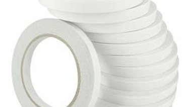 Bulk Double sided Tape 12mm x 12 pieces  x  25m