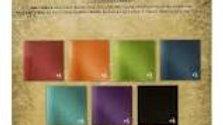 Tim Holtz Kraft  Stock  Metallic Jewels  8 x 8 paper pad  36 sheets