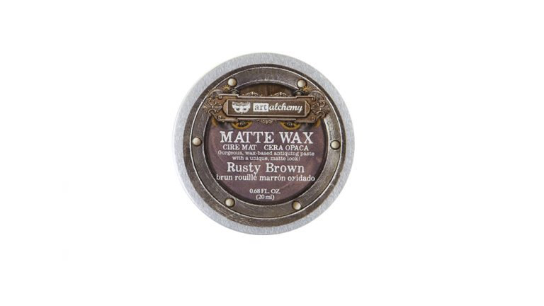 Art Alchemy-Matte Wax – Rusty Brown.68oz (20ml)