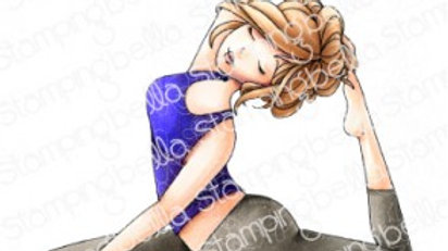 Stamping Bella  Yoga  Mocha Girl