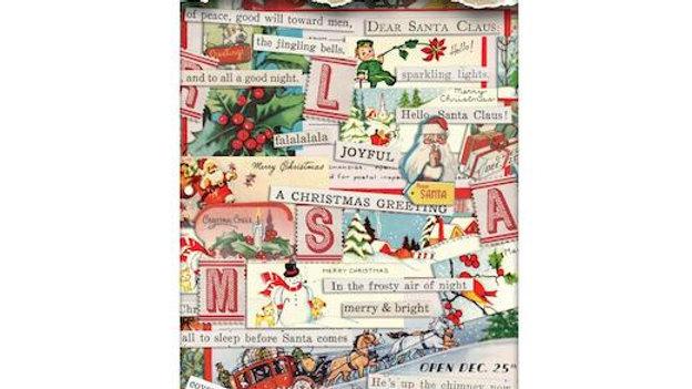 Ideal ology Sticker Book Christmas Noel