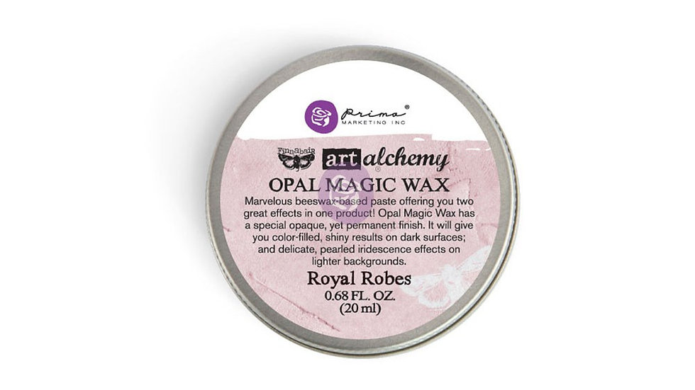 Art Alchemy-Opal Magic Wax-Royal Robes  .68oz (20ml)