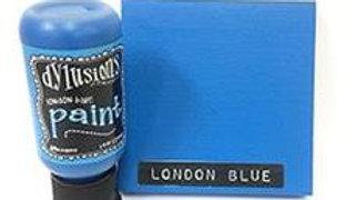 dylusions paints  London Blue