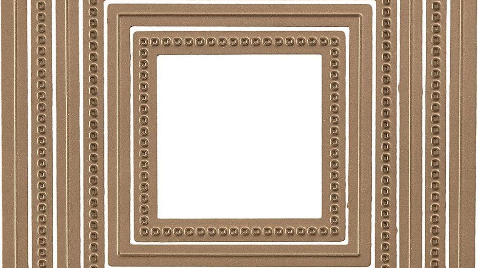 spellbinders Hemstitched Squares
