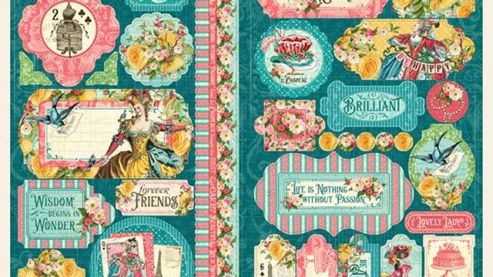 Ephemera Queen Sticker Sheet
