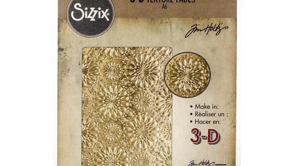 Sizzix 3D texture Fades  Kaleidoscope