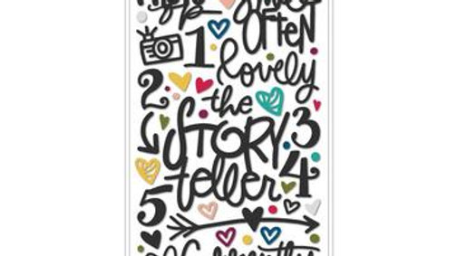 Vicki Boutin Thickers words & Icons