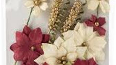 Prima Flowers christmas with stems