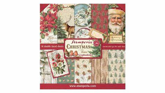 Stamperia classic Christmas  8 x8