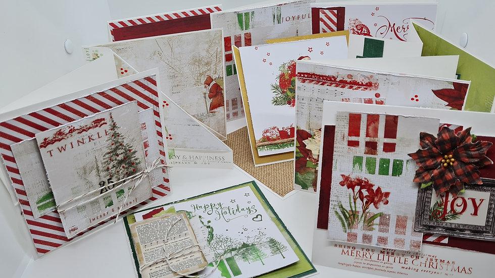 49 Market Artistry christmas cards