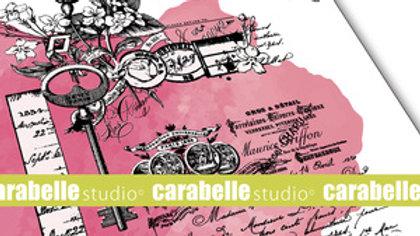 Carabelle Cling Stamp - Secret