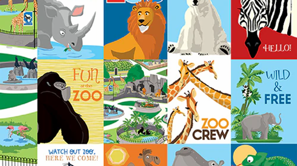 Carta Bella Zoo Adventure 3 x 4 journaling Cards