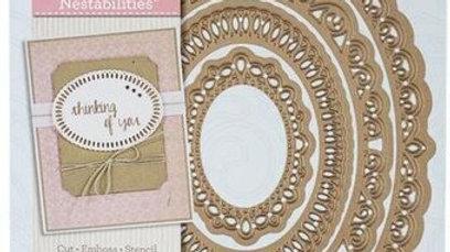 Spellbinders  Elegant Ovals