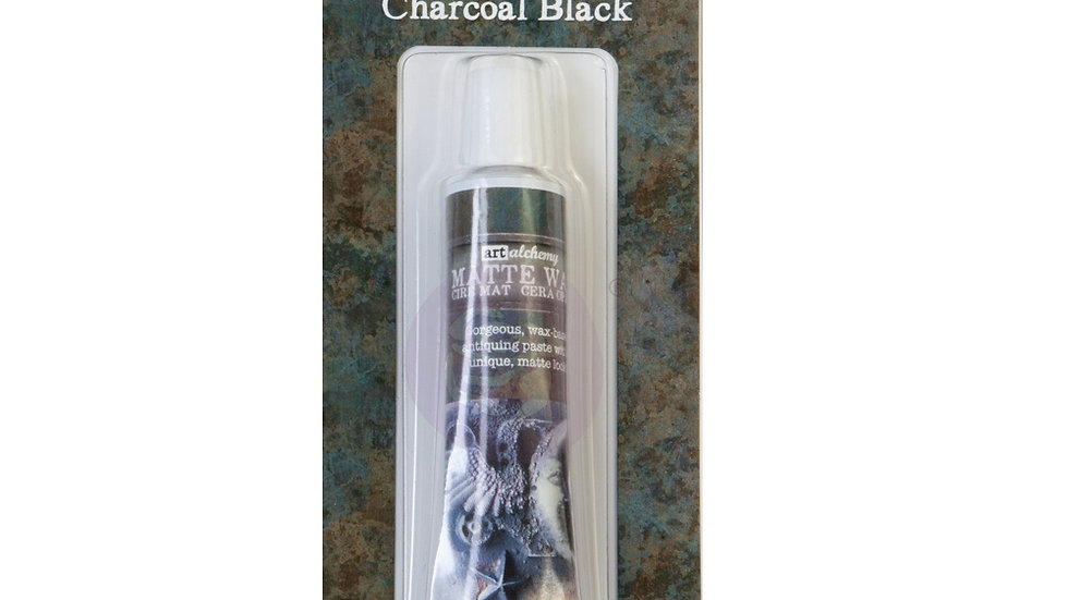 Alchemy-Metallique Wax –charcoal Black .68oz (20ml)