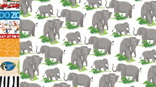 Carta Bella Zoo Adventure Elephants