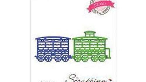 Cottage Cuts train car & caboose