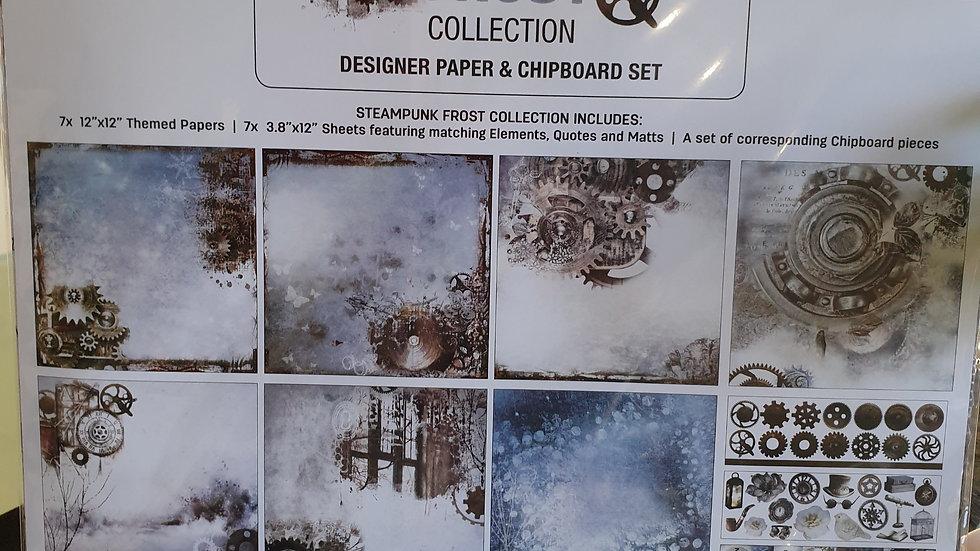 "3 Quarter Designs  ""Steam Punk Frost"""