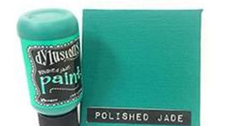 dylusion paints Polished Jade
