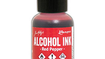 Alcohol Ink - Red Pepper