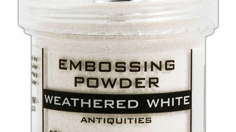 Ranger Embossing Powder - Weathered White